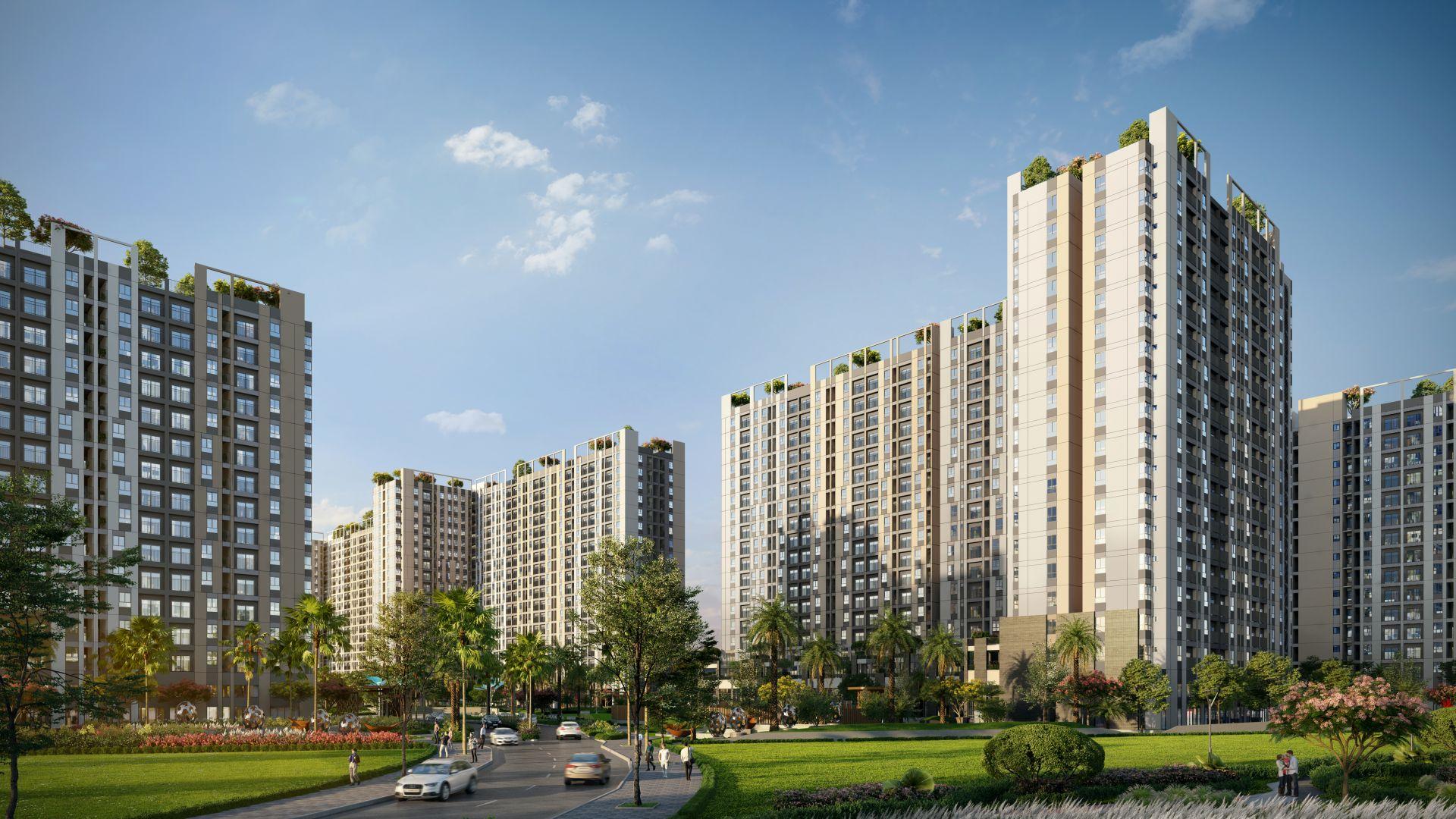 Mua nhà ở thực giữa mùa dịch, căn hộ trên dưới 2 tỷ đồng được quan tâm