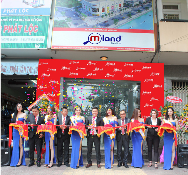 MLAND tưng bừng khai trương văn phòng thứ 26 tại Biên Hòa