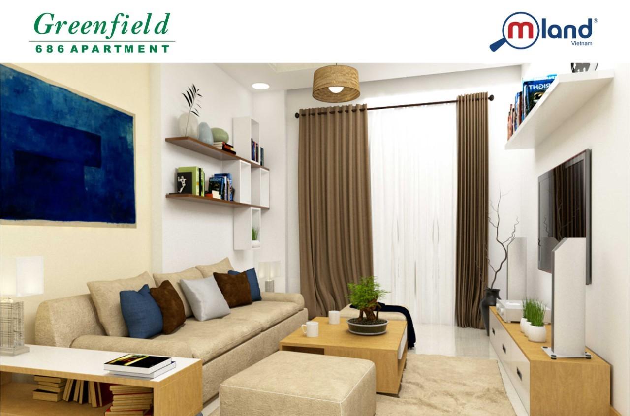 Toàn bộ 180 căn hộ Greenfield 686 giai đoạn 1 đã có chủ ngay trong ngày mở bán
