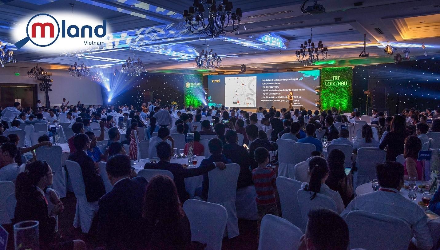 MLAND Vietnam phân phối Dự án T&T Long Hậu đạt kết quả bán hàng ngoạn mục ngay tại sự kiện ra mắt