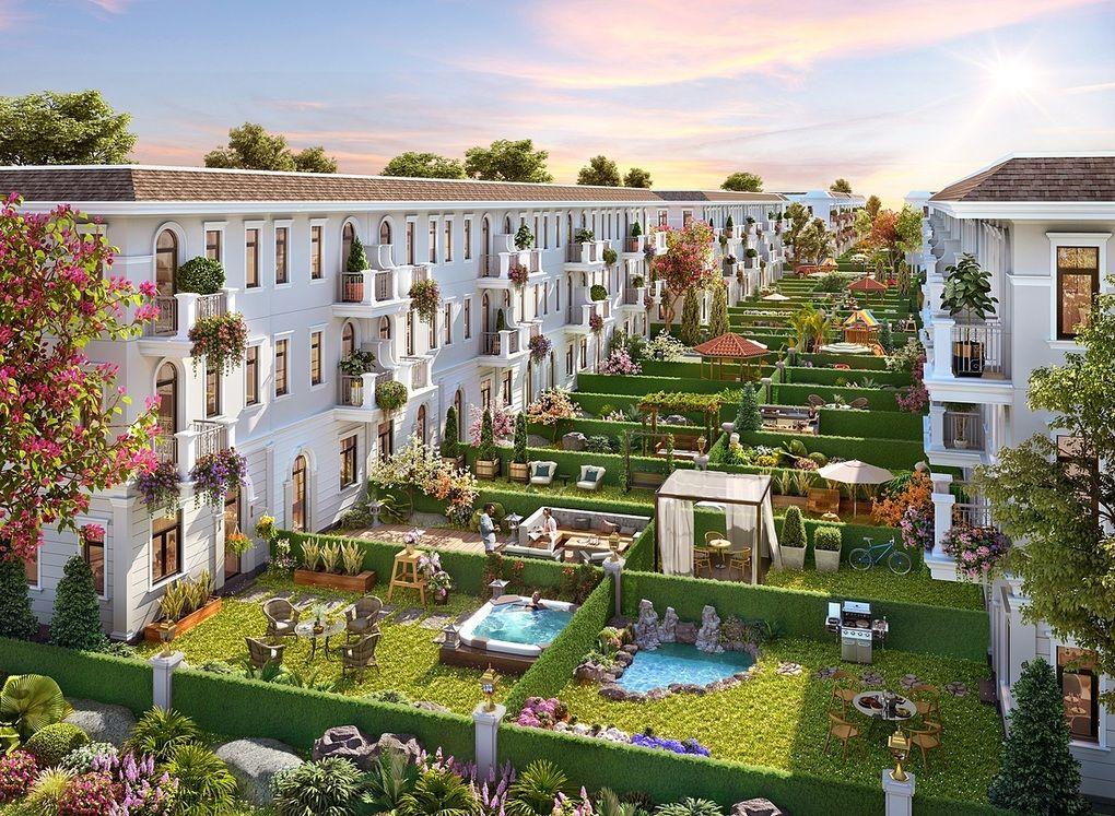 Nhà phố rộng tạo không gian sống như biệt thự