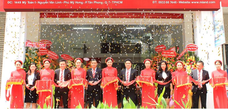 MLAND VIETNAM Vietnam khai trương văn phòng mới tại Phú Mỹ Hưng, Quận 7, Tp. HCM