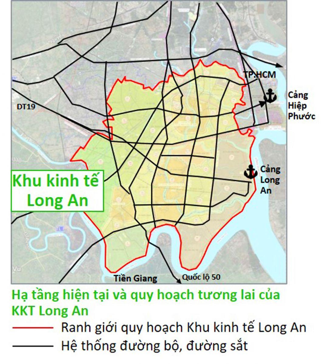 Long An muốn phát triển khu siêu kinh tế 32.000 ha