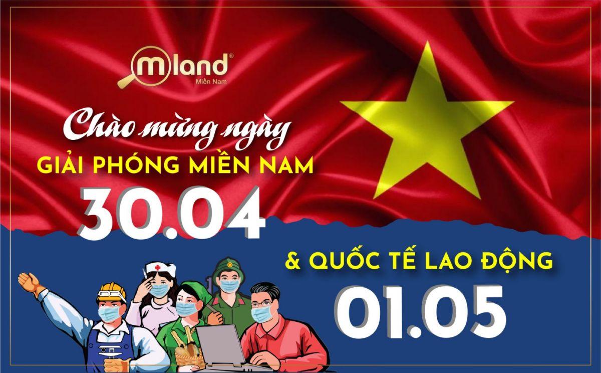 MLAND Việt Nam Chào mừng ngày Giải phóng Miền Nam 30/04 và Quốc tế Lao động 01/05