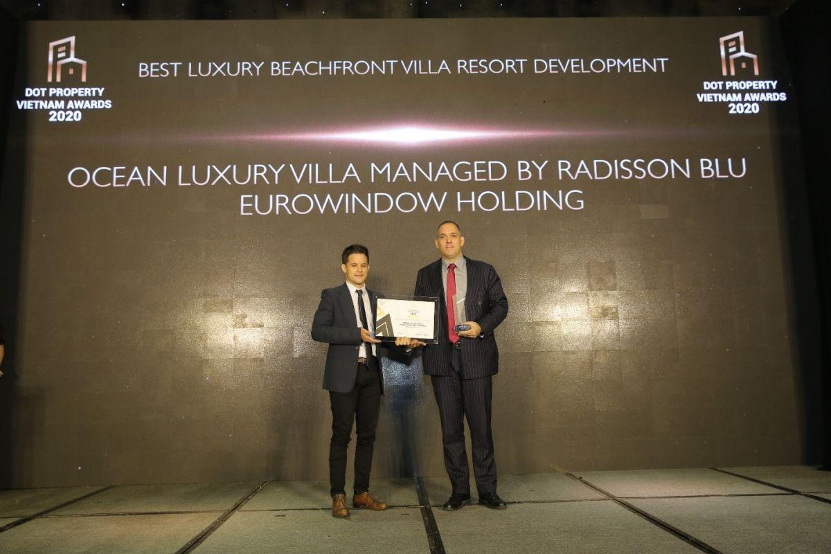 Dot Property Vietnam Awards 2020: Ocean Luxury Villa by Radisson Blu thắng lớn