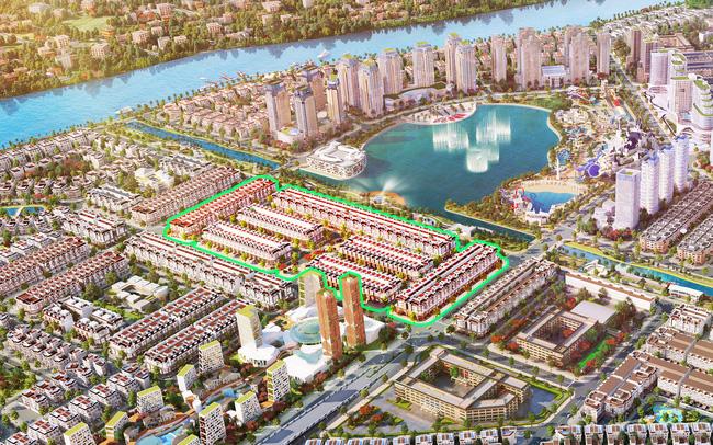 Mở bán Sunlake Shop Villas phân khu đẹp nhất Van Phuc City