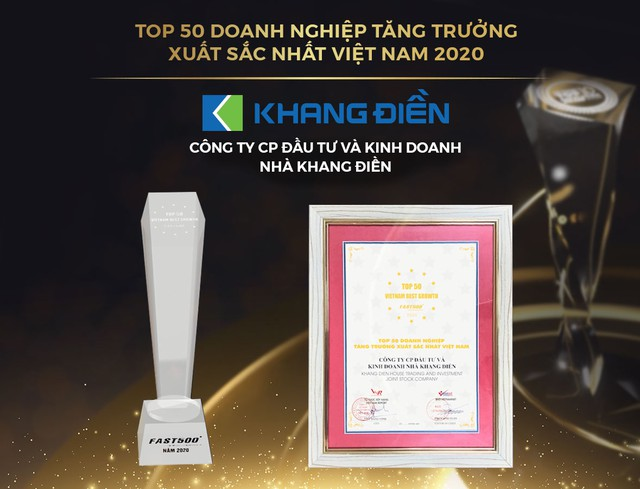 Khang Điền – Top 10 chủ đầu tư bất động sản Việt Nam uy tín năm 2020