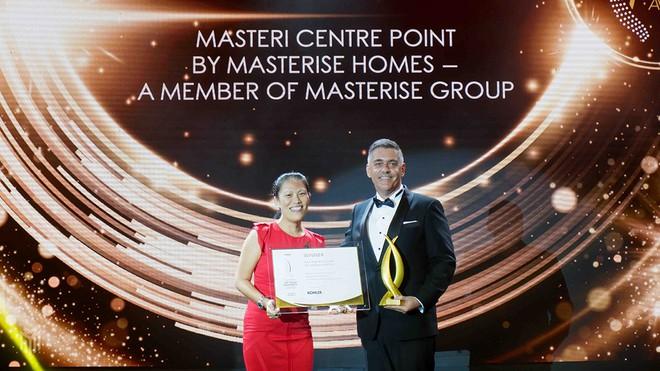 Masteri Centre Point ghi dấu thắng lợi tại lễ trao giải Propertyguru Vietnam Property Awards 2020