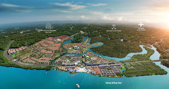 Tiềm năng phát triển của Aqua City tăng nhanh khi loạt hạ tầng được chốt tiến độ
