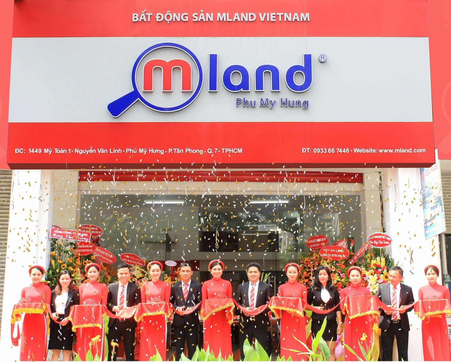 MLand Vietnam khai trương văn phòng mới tại Phú Mỹ Hưng