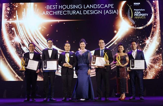 Verosa Park được vinh danh giải thưởng 'Thiết kế kiến trúc cảnh quan nhà ở xuất sắc'