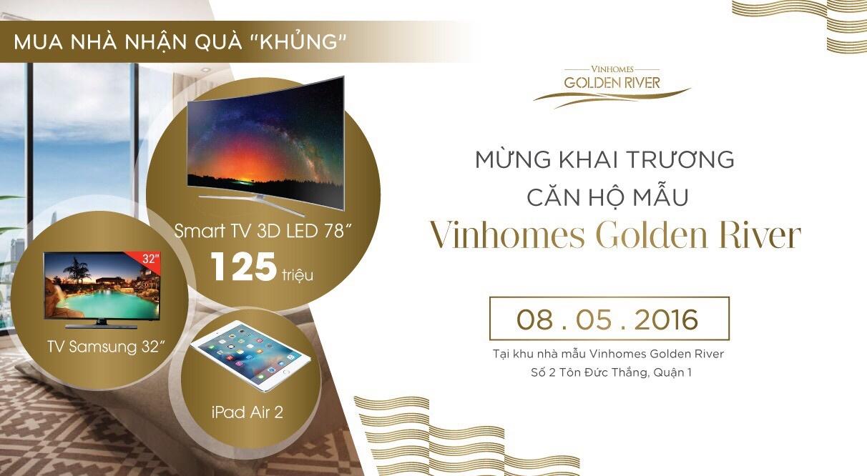 MLAND Vietnam tổ chức chuỗi sự kiện vinhomes golden river tại nhà mẫu