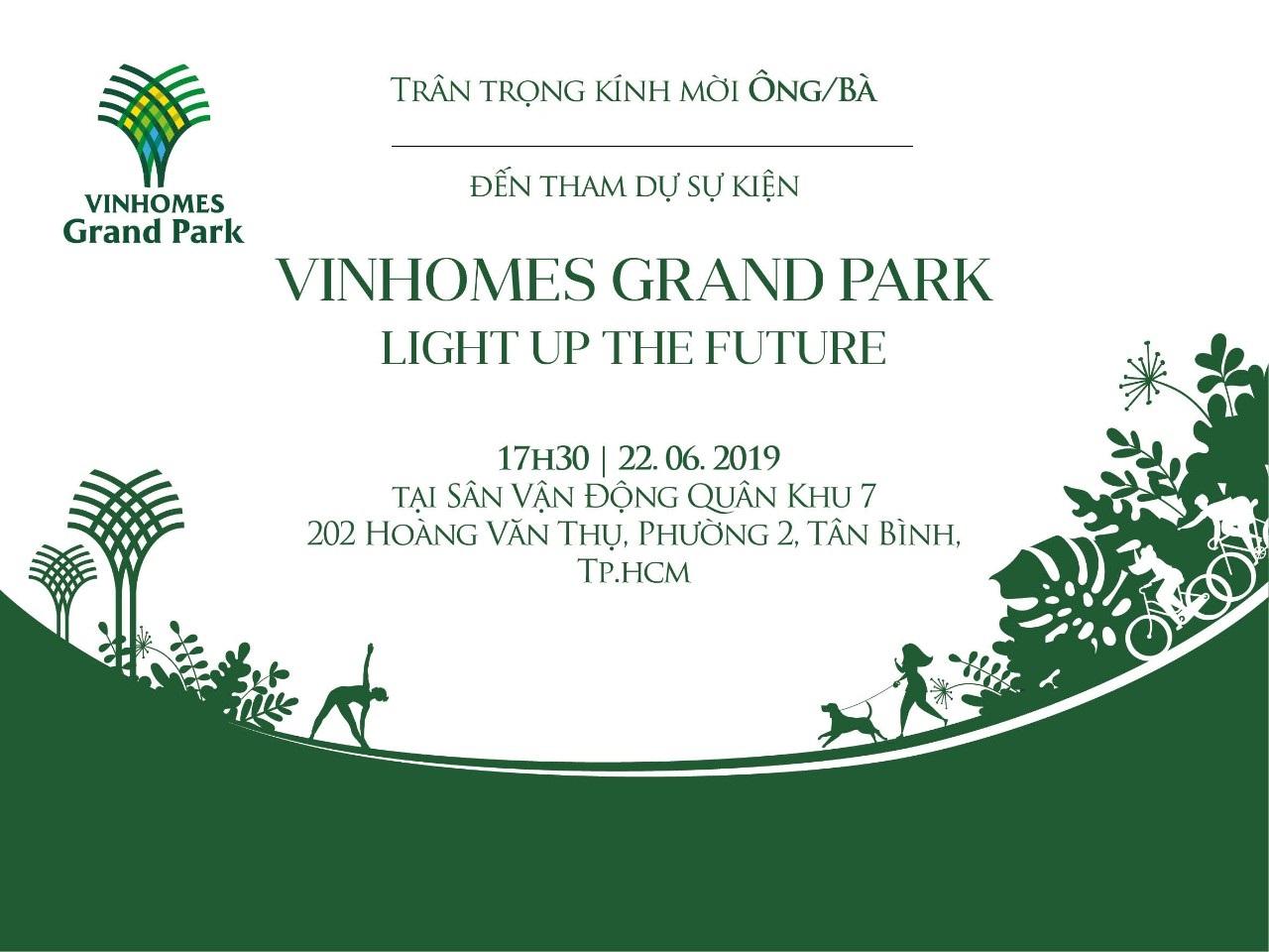 Vinhomes Grand Park - Light up the future