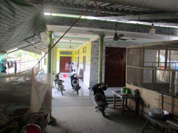 Bán Nhà 1 Trệt 1 Lầu Mặt Tiền Đg Ngã 3 Hàng Thẻ Huyện Long Hồ Vl - 502147