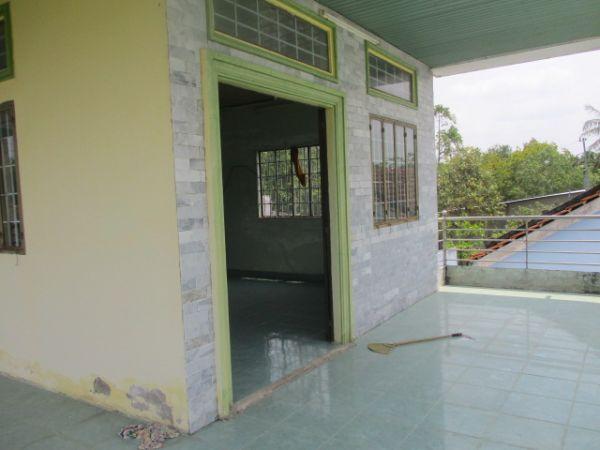 Bán Nhà 1 Trệt 1 Lầu Mặt Tiền Đg Ngã 3 Hàng Thẻ Huyện Long Hồ Vl - 502165
