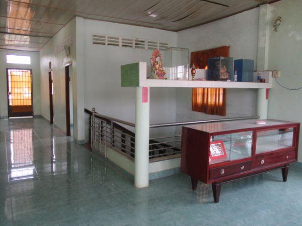Bán Nhà 1 Trệt 1 Lầu Mặt Tiền Đg Ngã 3 Hàng Thẻ Huyện Long Hồ Vl - 502171
