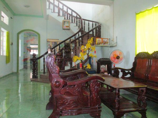 Bán Nhà 1 Trệt 1 Lầu Mặt Tiền Đg Ngã 3 Hàng Thẻ Huyện Long Hồ Vl - 502183