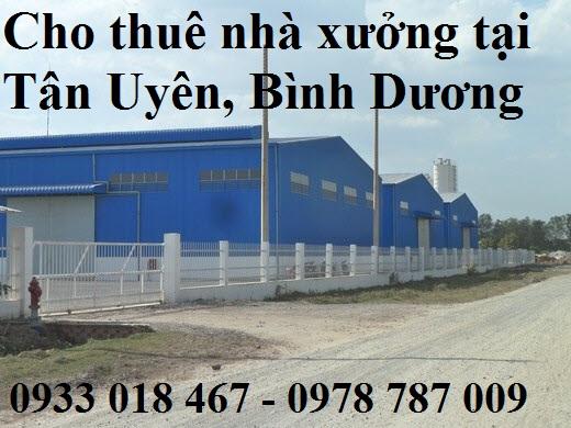 Cho Thuê Nhà Xưởng Tại Thuận An, Bình Dương 0933 018 467 –  0978 787 009 Mạnh Dũng  8 - 522052