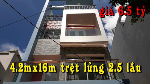 Bán Nhà Tân Bình ,Nhà Phố Hiện Đại 2020, 4.2X16M 3.5 Lầu|,Gần Măt Tiền Đường Nguyễn Sỹ Sách ,Hẻm 5M - 528442