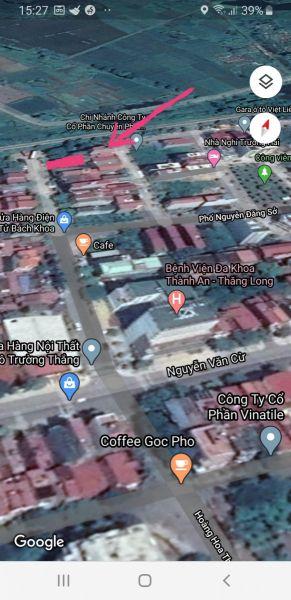 Bán Nhanh Lô Đất Mặt Đường Kinh Doanh Tốt Hoàng Hoa Thám, Tp Bắc Ninh, Bắc Ninh - 534637