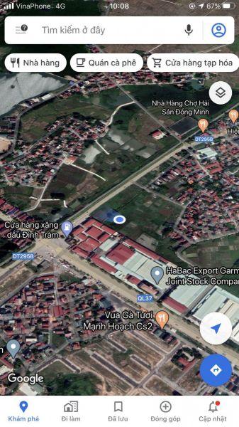 Chính Chủ Cần Bán Lô Đất Mới Nhìn Vườn Hoa Sát Chợ Đình Trám. - 535180