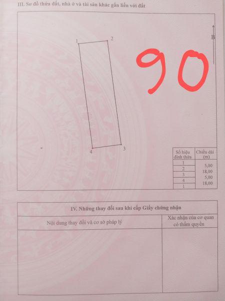 Bán Lô 486 Chu Mẫu Vân Dương Thành Phố Bắc Ninh, Bắc Ninh - 535453