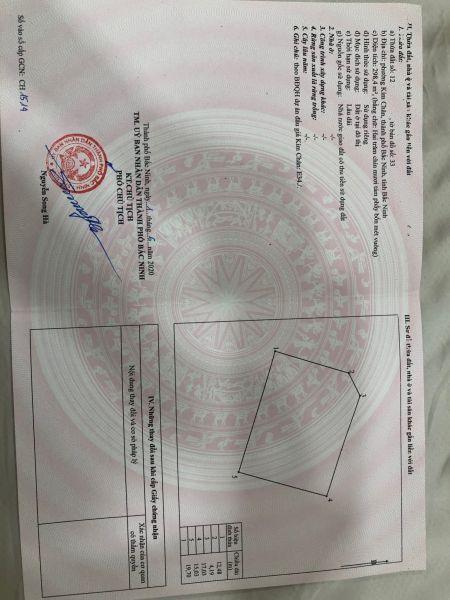 Cần Tìm Chủ Mới Cho Lô Góc E34, Phường Kim Chân, Tp Bắc Ninh - 536002
