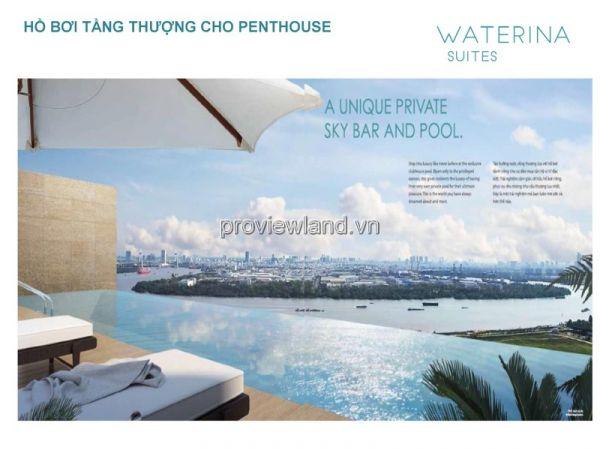 Căn Hộ Penthouse Waterina Suites, 2 Tầng, Tt 50% Nhận Nhà, Ck 6% - 536158
