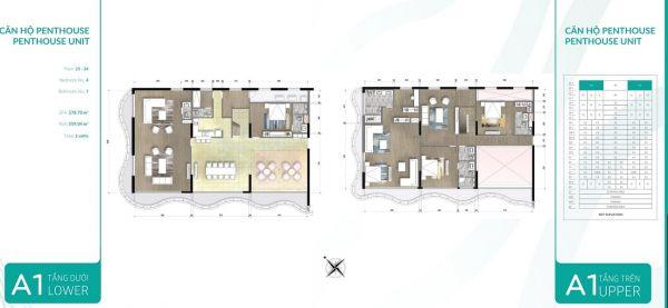 Căn Hộ Penthouse Waterina Suites, 2 Tầng, Tt 50% Nhận Nhà, Ck 6% - 536164