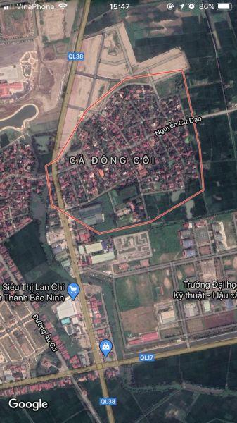 Chính Chủ Bán Lô Đất Làn 2 Ql38 Dự Án Làng Cả Đông Côi, Thuận Thành. - 536416