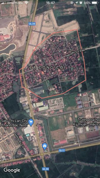 Chính Chủ Bán Lô Đất Dự Án Làng Cả- Đông Côi- Thuận Thành-Bắc Ninh - 536614