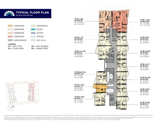 Cần Bán Căn Hộ Dự Án The Opera Đoạn 3 - The Metropole Thủ Thiêm, Giá 120Tr/M2 - 537232