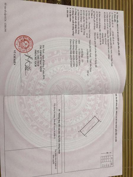 Chính Chủ Bán Nhà 3 Tầng Đường Lương Thế Vinh,Võ Cường - 537346