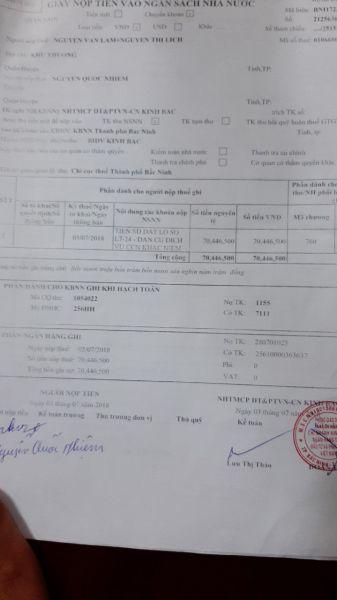 Chính Chủ Bán Lô L7-24 Khắc Niệm, Tp Bắc Ninh, Bắc Ninh - 537832