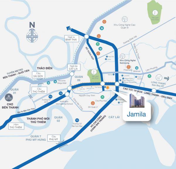 Căn Penthouse Jamila Khang Điền, Q9, 256M2, Bán Giá Tốt 10.3 Tỷ - 538099