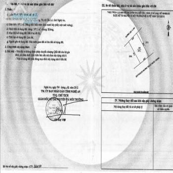 Chính Chủ Cần Tiền Bán Lô Đất Khu Đô Thị Nguyễn Sinh Cung Giá Mua Nhanh Bán Nhanh - 541180