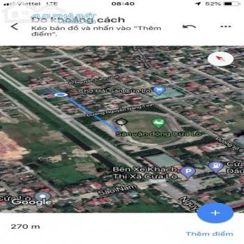 Lô Đất Đẹp Sau Chợ Hải Sản Cửa Lò Nghệ An - 541291