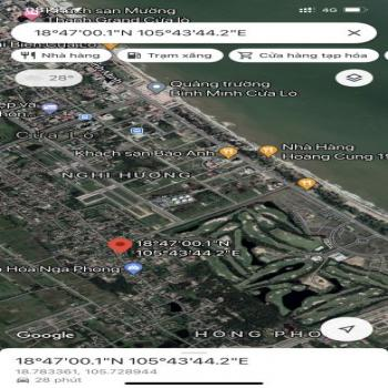 Bán Lô Đất Cửa Lò Tính Thanh Khoản Cao, Thích Hợp Kinh Doanh - 541303