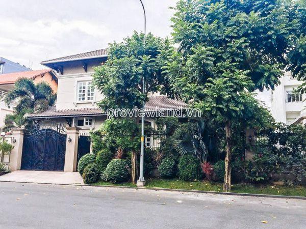 Bán Biệt Thự Eden Villa Thảo Điền, Mt Nguyễn Văn Hưởng, 334M2, Hồ Bơi Đẹp - 542779