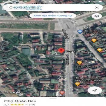 Chính Chủ Cần Bán Nhanh Lô Đất Tái Định Cư Quán Bàu Cách Ql1A 50M - 542848