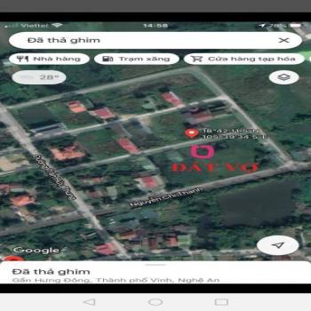 Đất Chính Chủ - Hưng Đông - Lối Nguyễn Chí Thanh - Giá Chỉ 1 Tỷ - 543298