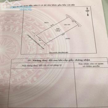 Bán Miếng Đất Đấu Giá Sau Trường Cao Đẳng Du Lịch, Hưng Lộc, Tp Vinh - 543874