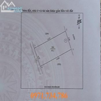 Đất Lối 2 Đường Bùi Dương Lịch - Quán Bàu - Tp Vinh 93M2 Giá 1150 Triệu - 543964