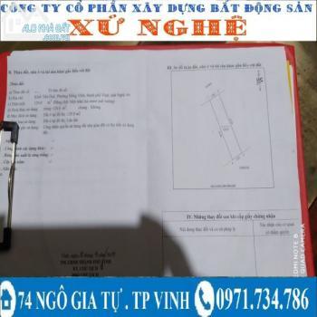 Đất Nguyễn Xuân Linh Yên Duệ Đồng Vĩnh Tp Vinh - 544024
