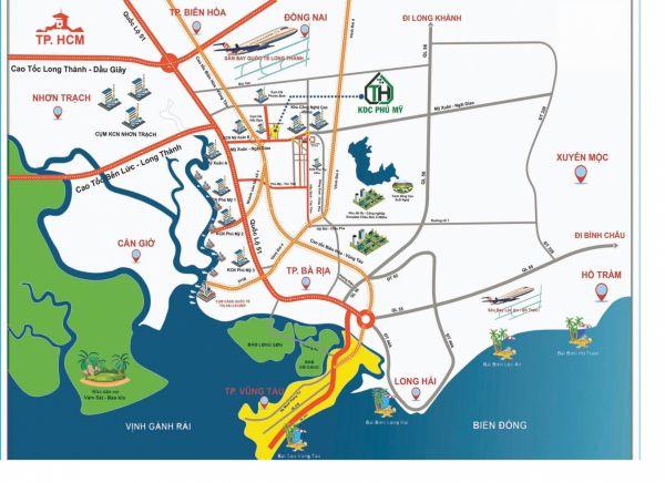 Đất Tân Hạnh, Vạn Hạnh, Tràng Cát, Thị Vải, Tóc Tiên Vũng Tàu Giá  2.5Tr/ M2. - 544510