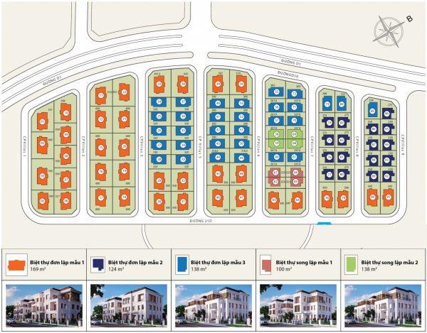 Biệt Thự Vinhome Tân Cảng Diện Tích 300M2 1 Hầm 1 Trệt 2 Lầu Giá Tốt - 544720