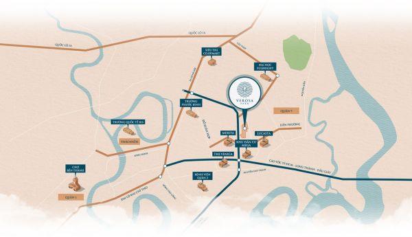 Biệt Thự Verosa Khang Điền, Căn Cos 296M2 Đất, 2 Tầng, Ck 4%, Tặng Xế Xịn - 546934