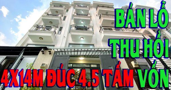 Nhà Đất Nguyễn Trường  Bán Nhà Gò Vấp  Bán Nhà Tân Bình-Nhà Đẹp Bán Lỗ 1 Tỷ , 4Mx14M Đúc 4 5 Tấm - 547327