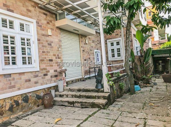 Bán Biệt Thự Fideco Thảo Điền, Có Sân Vườn, 3 Lầu, 340M2 Sổ Hồng - 549805