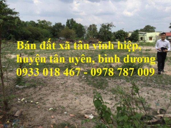 Bán Đất Tân Vĩnh Hiệp, Tân Uyên, Bình Dương - 550522